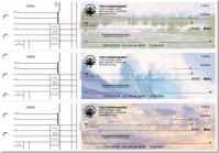 Nature's Majesty General Purpose 3-on-a-Page Checks - 1 Box