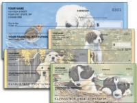 Puppy Tales Personal Checks - 1 box - Duplicates