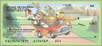 Looney Tunes Cartoon Personal Checks - 1 Box