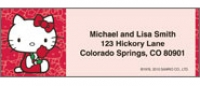Hello Kitty Classics Address Labels - Set of 210 Personal Checks