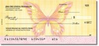 Butterflies Animal Personal Checks - 1 Box