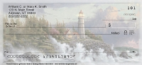 Christian Personal Checks - Thomas Kinkade's Lighthouses Inspirational Christian