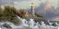 Thomas Kinkade's Lighthouses Inspirational Art Checkbook Cover Personal Checks