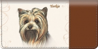Yorkie Dog Checkbook Cover Accessories