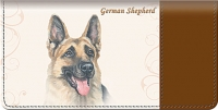 German Shepherd Dog Checkbook Cover Accessories