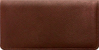 Brown Leather Checkbook Cover 1 Accessories