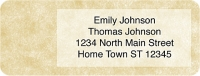 Parchment Booklet of 150 Address Labels Accessories