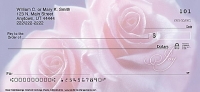 Soft Pink Roses Personal Checks