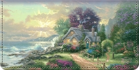 Thomas Kinkade's Seasons of Reflection Checkbook Cover Personal Checks