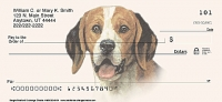 Beagle Dog Personal Checks 1