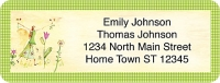 Garden Graces Booklet of 150 Address Labels Accessories