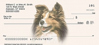 Sheltie Dog Personal Checks