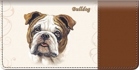 Bulldog Checkbook Cover Accessories