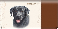 Black Labrador Checkbook Cover Accessories