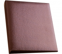 Burgundy Home Desk Binder Business Accessories