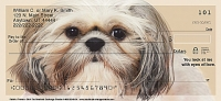 Faithful Friends - Shih Tzu Dog Personal Checks