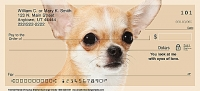 Faithful Friends - Chihuahua Dog Personal Checks