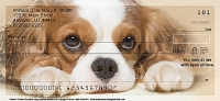 Faithful Friends - Cavalier King Charles Dog Personal Checks