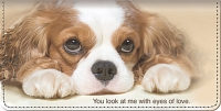 Faithful Friends - Cavalier King Charles Checkbook Cover Accessories