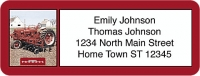 Farmall Booklet of 150 Address Labels Accessories