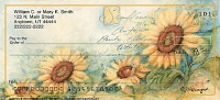 Fields of Sunflowers Personal Checks