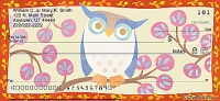 Challis & Roos Awesome Owls Personal Check Designs Personal Checks