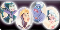 Disney Legendary Villains Checkbook Cover Accessories