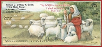 Christian Personal Checks - The LORD is My Shepherd