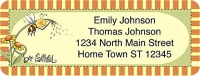Just Bee Booklet of 150 Address Labels Accessories