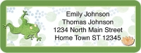 Challis & Roos Leap Frog Booklet of 150 Address Labels