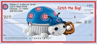 MLB 	® Chicago Cubs	® - Catch the Bug! Personal Checks