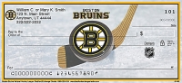 Boston Bruins(R)  Personal Checks