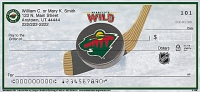 Minnesota Wild(R)  Personal Checks