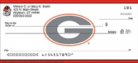 University of Georgia  Personal Checks