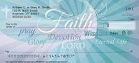 Faith Hope Christ  Personal Checks
