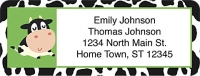 Udderly Cute Cows Return Address Label Accessories
