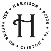 Harrison Personalized Initial Stamp Accessories