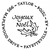 Noel Personalized Image Stamp Accessories