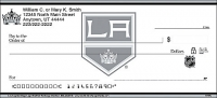 Los Angeles Kings Logo Personal Checks