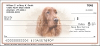 Best Breeds - Irish Setter Personal Checks