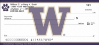 University of Washington(R) Personal Check Designs