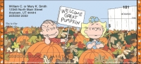 Peanuts - It's the Great Pumpkin Personal Checks
