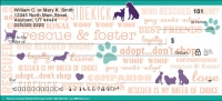 Rescue & Adopt Personal Checks