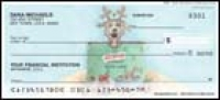 Gary Patterson Christmas Dogs Personal Checks - 1 box