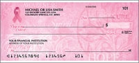 Hope for the Cure Side Tear Personal Checks - 1 Box