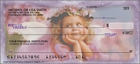 Angel Faces Religious Personal Checks - 1 Box