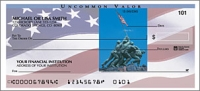 Stars & Stripes Side Tear Personal Checks - 1 Box