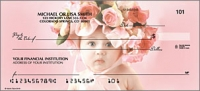 Floral Fairies Flower Personal Checks - 1 Box