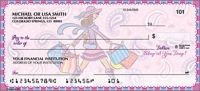 Pampered Girls Girly Personal Checks - 1 Box