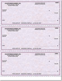 Concordia Laser Checks Check No Voucher w/o Lines - 1 Box
